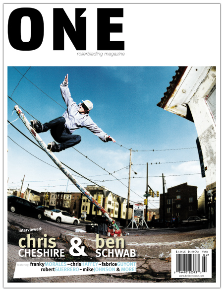 COVER BOY: Chris Cheshire