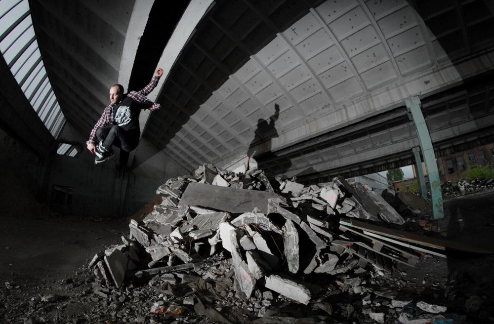 BLADE LIFE: Shredding a Factory in Poland