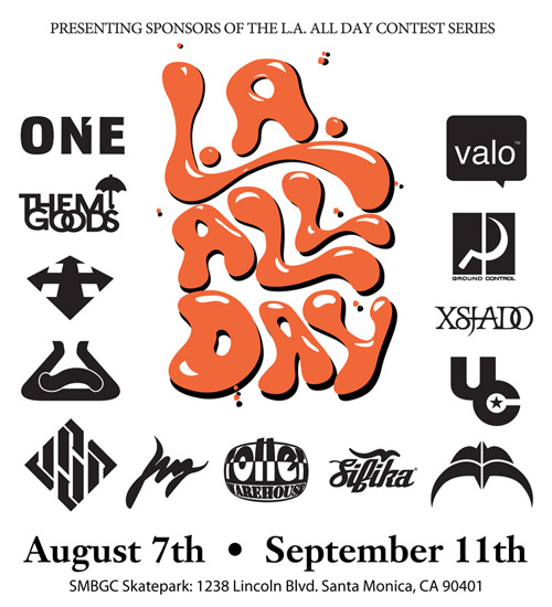 EVENTS: August 7th LA All Day