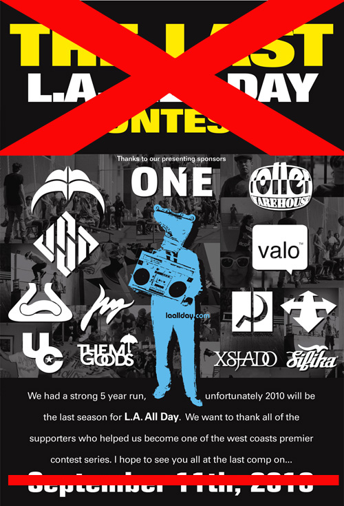EVENTS: LA All Day *Canceled*