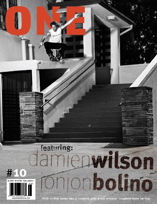 COVER BOY: Damien Wilson