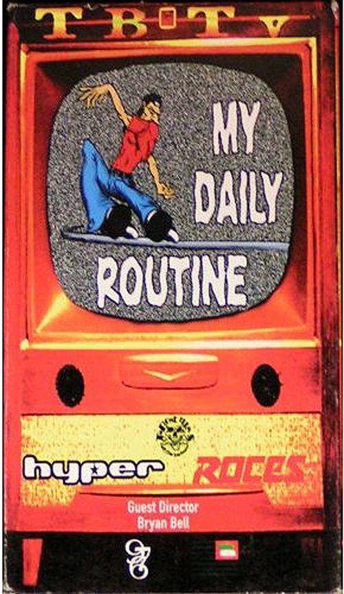 LOOKBACK #1: My Daily Routine by B Bell