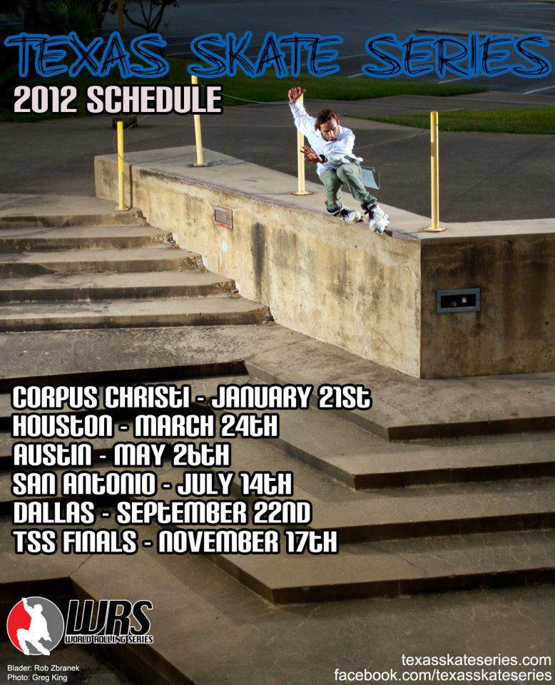 Texas Skate Series Comp Schedule