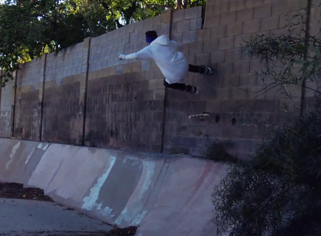 Revolution Skate Shop's Raw Clips of Mathieu Ledoux