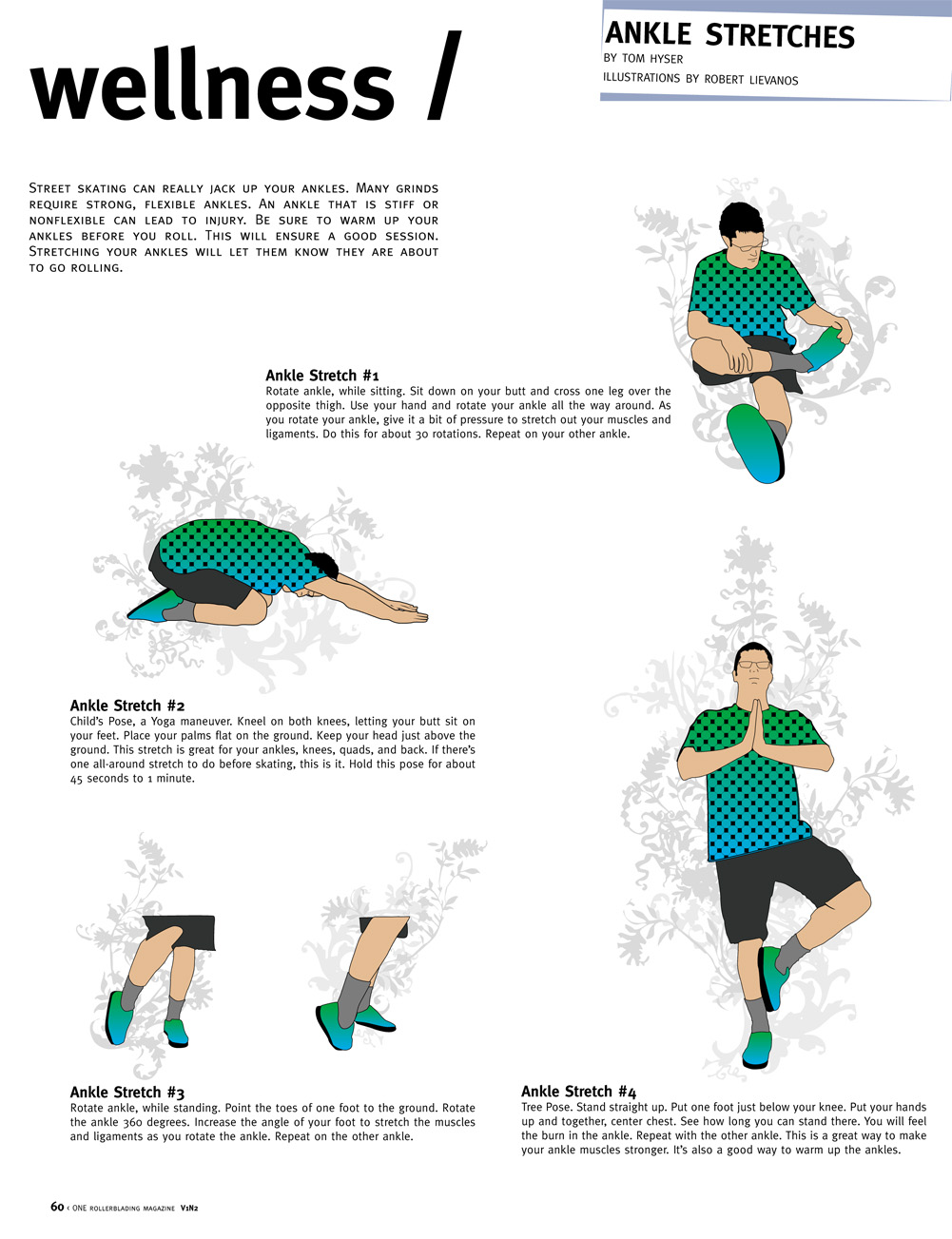 #2: Ankle Stretches