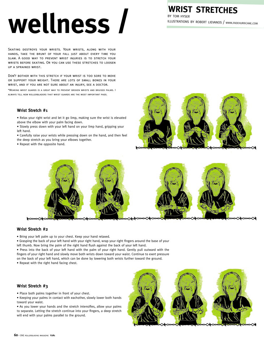 #3: Wrist Stretches