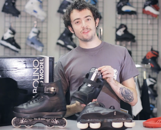 Rollerwarehouse Checking out the New Bolino Pro Model