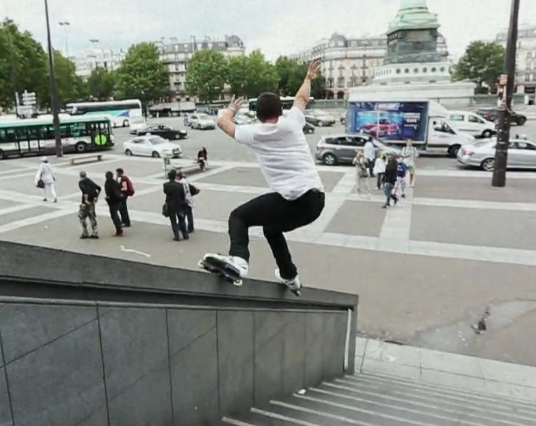 Catching up with Rob Guerrero in Paris