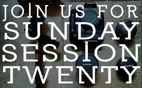 Be Part of Sunday Session XX