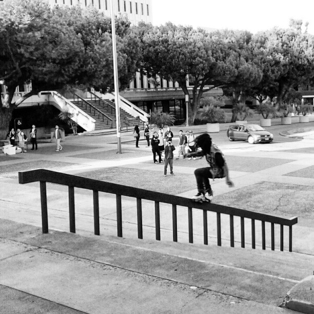 Montre Livingston skating on…