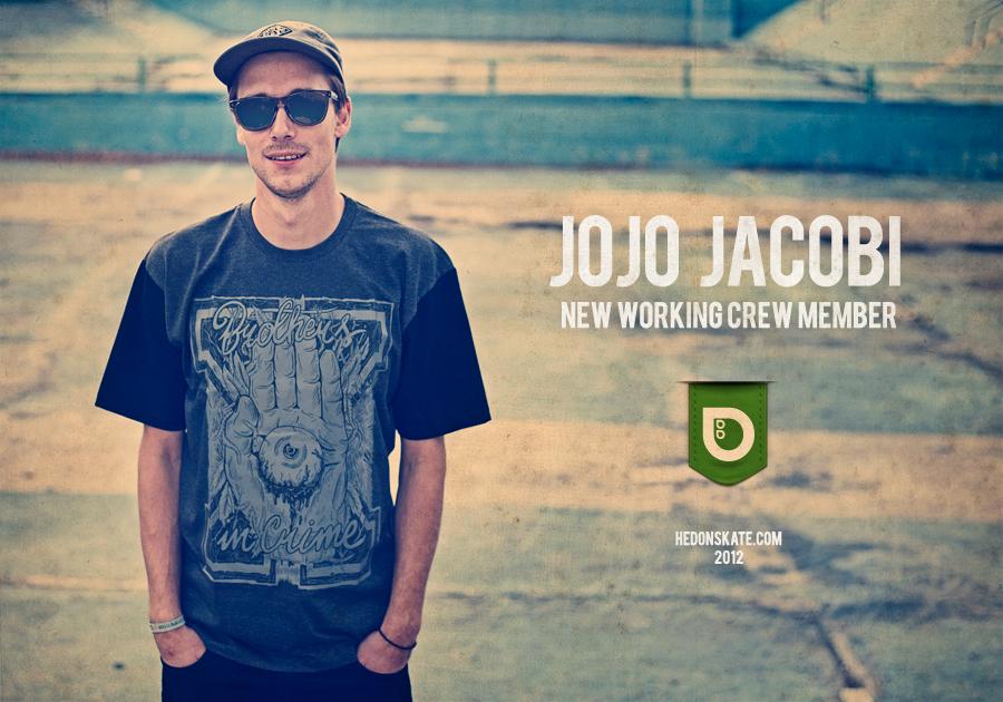 Hedonskate hires Jojo Jacobi
