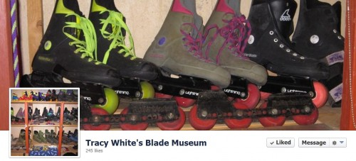 Tracy White's Blade Museum — Countdown to BCSD