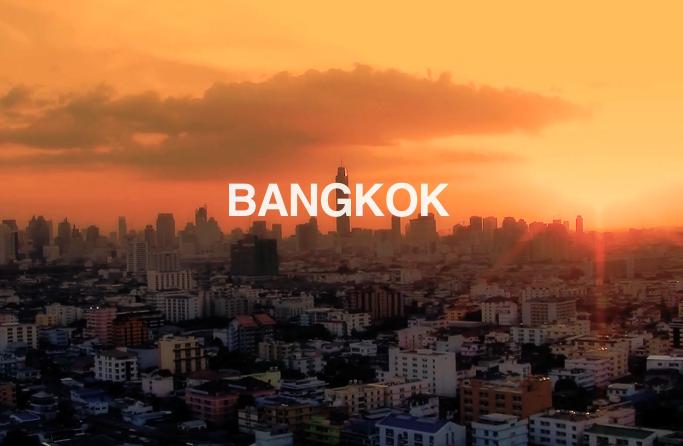 Worapoj Boonnim and Richie Eisler in Bangkok