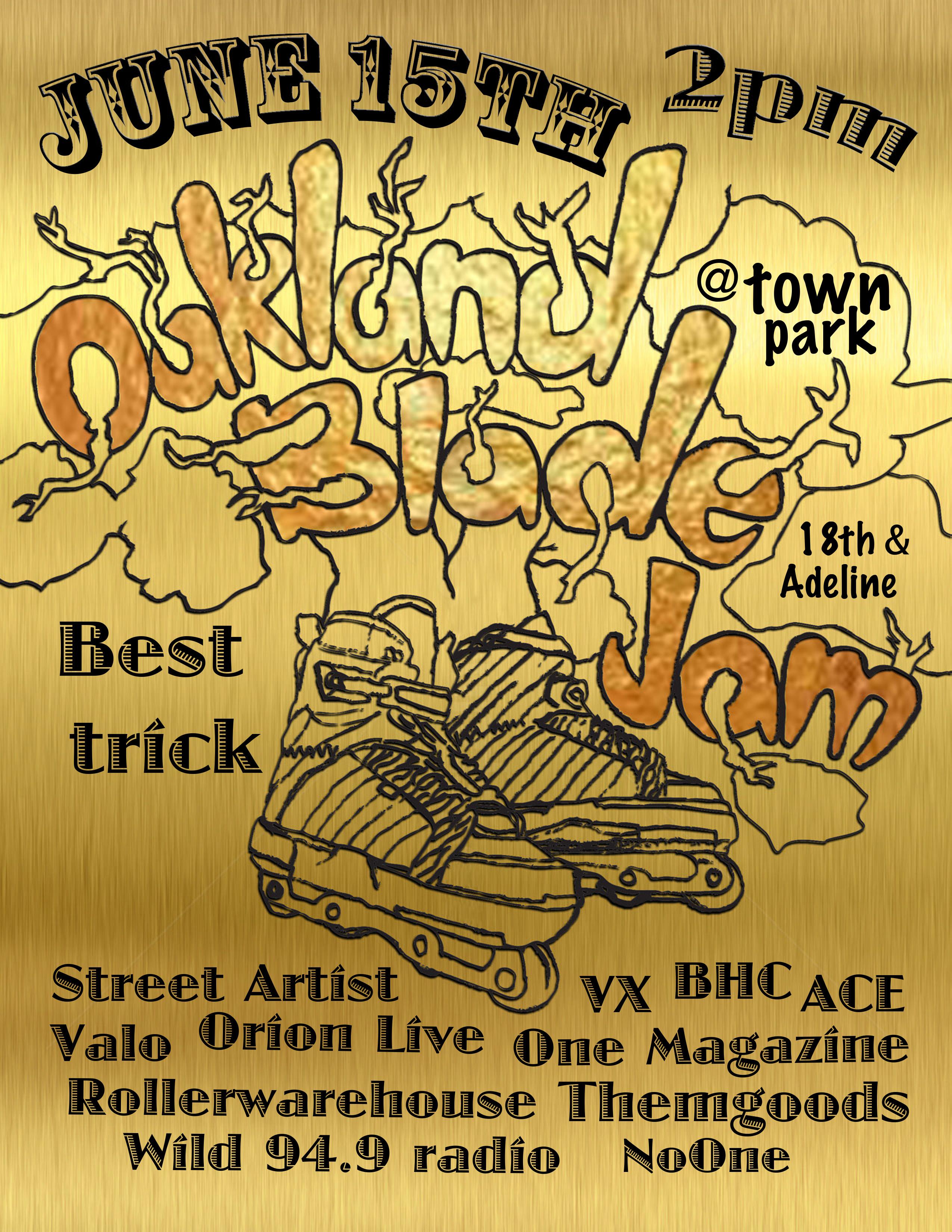 Oakland Blade Jam