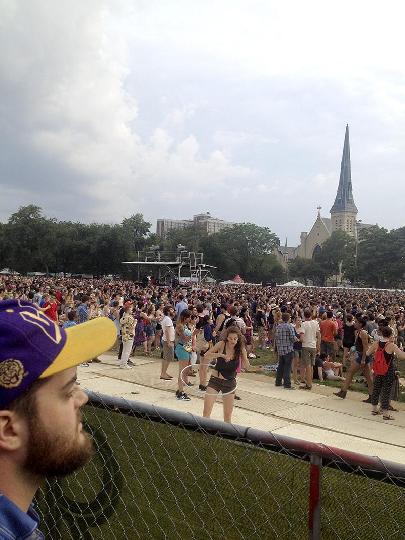 GL-Joe does Pitchfork Festival Chicago