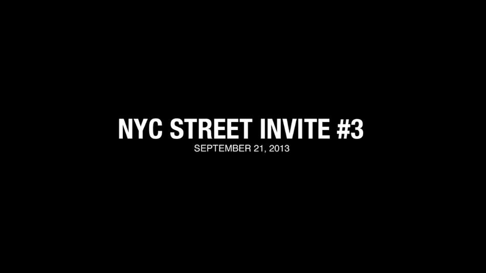 Valo @ NYC Street Invite