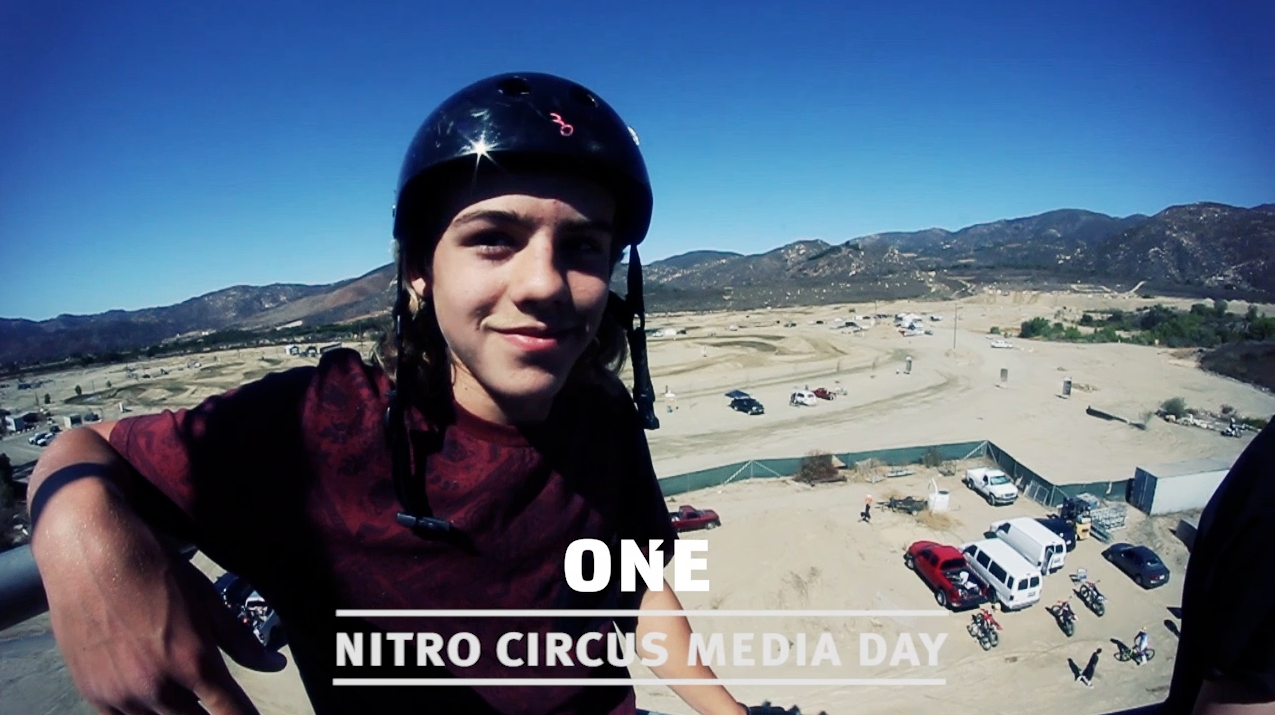 Nitro Circus Live: Blading in the Action Sports Blender