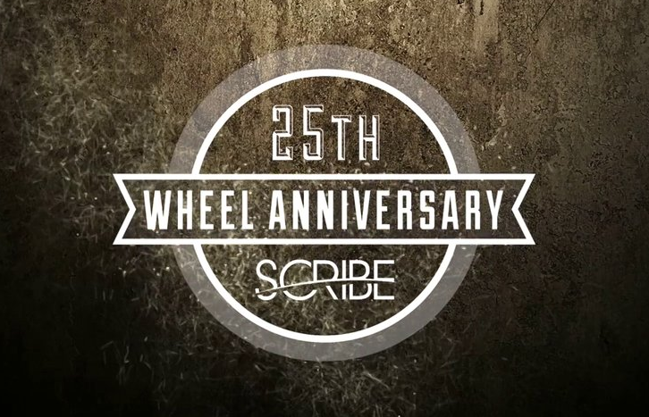 Scribe Industries 25th Wheel Anniversary Team Edit