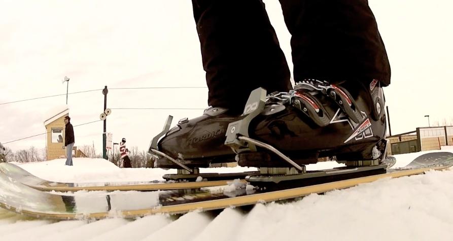 Chris Duke goes Skiblading