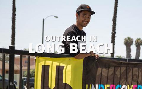 Outreach in Long Beach