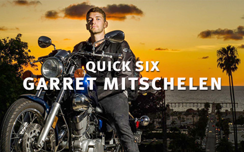 QUICK SIX: Garret Mitschelen