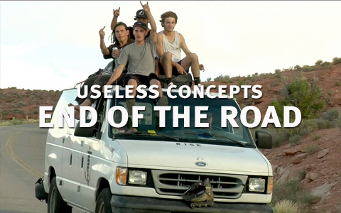 Useless Concepts: End of the Road