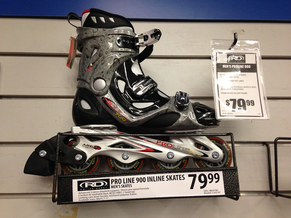 Have you looked at entry level skates recently?