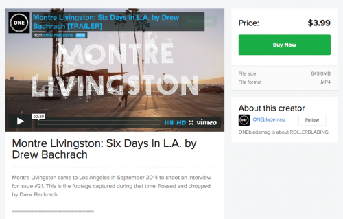 Montre Livingston #6daysinLA VOD **Available Now**