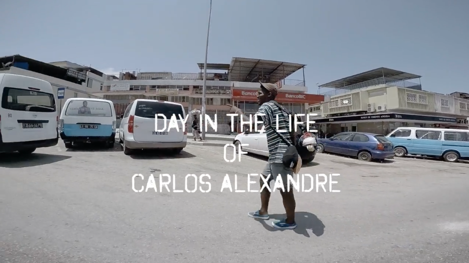 DAY IN THE LIFE OF CARLOS ALEXANDRE