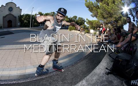 Bladin' The Mediterranean