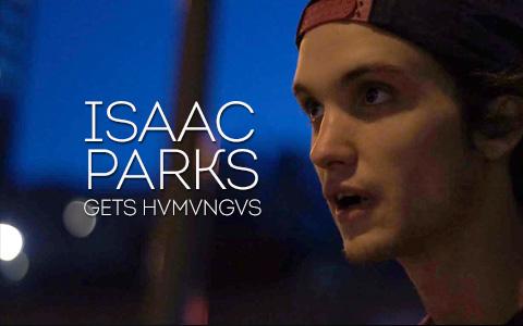 Isaac Parks Gets HVMVNGVS