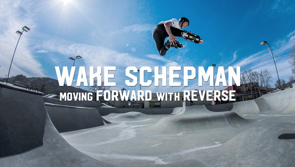 Wake Schepman Moving Forward in Reverse