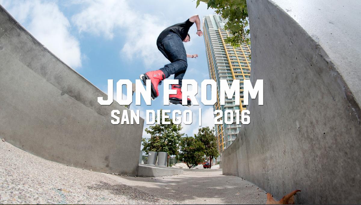 Jon Fromm San Diego 2016