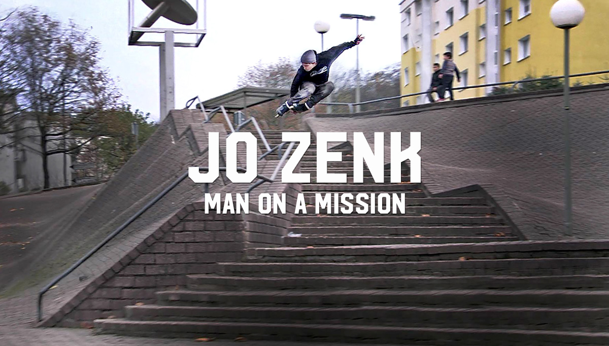 Jo Zenk: Man on a Mission