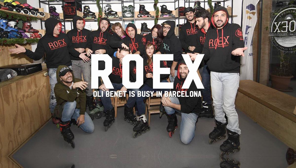 ROEX: Oli Benet is busy in Barcelona