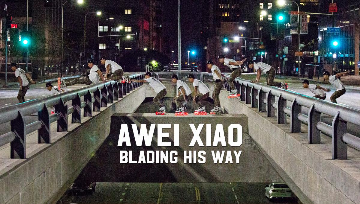 Awei Xiao: Blading his way