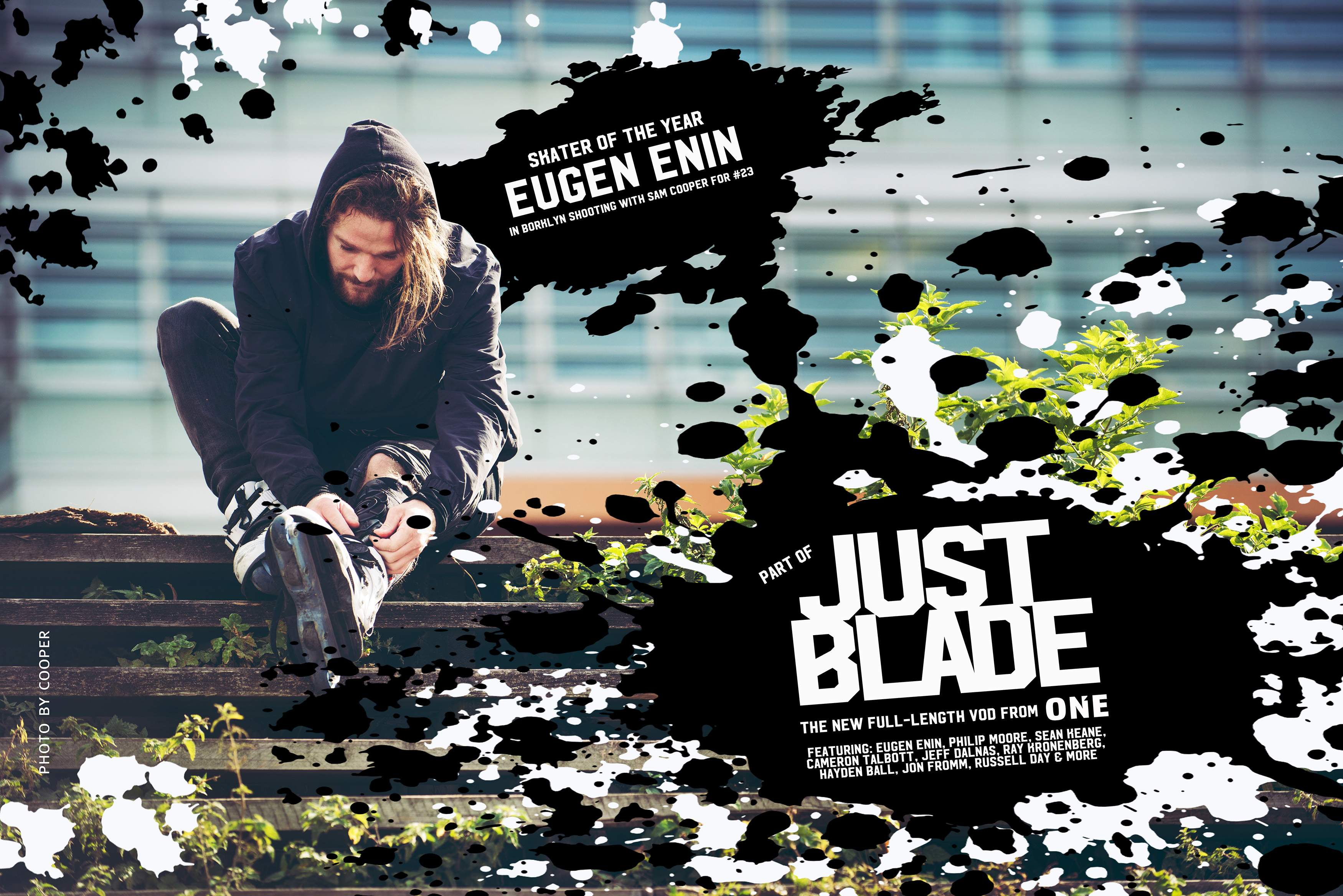"""ONE announces new video project """"JUST BLADE"""""""