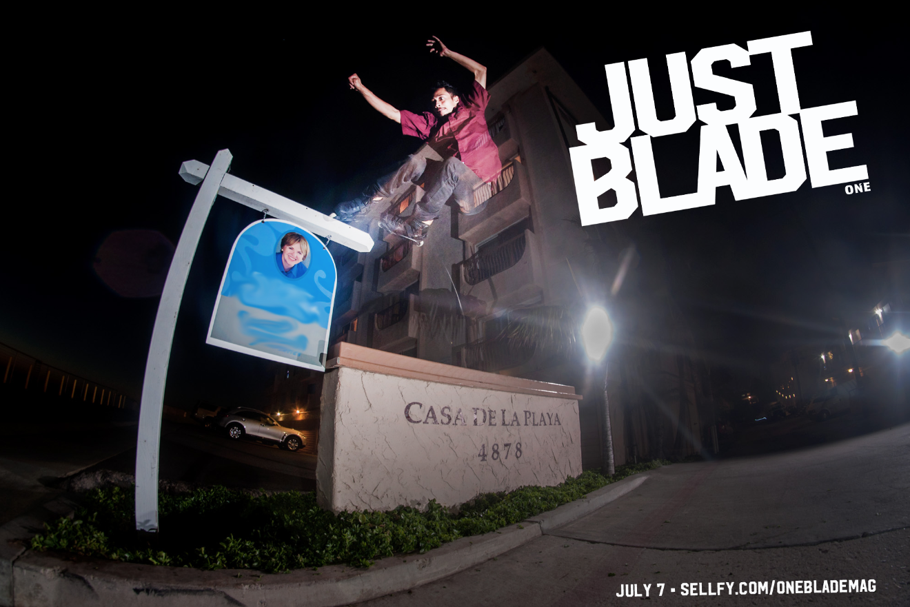 JUST BLADE **Kick Out** Teaser Posted