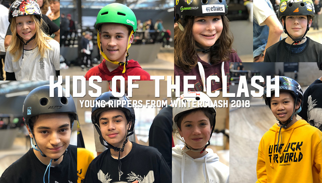 KIDS OF CLASH: Faces of Blading's Future
