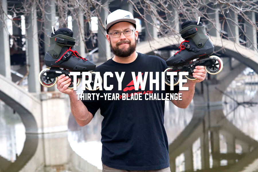 Tracy White: Thirty-Year Blade Challenge