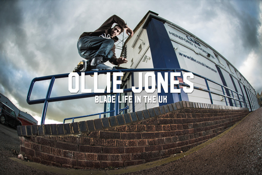 Ollie Jones: Blade Life in the UK