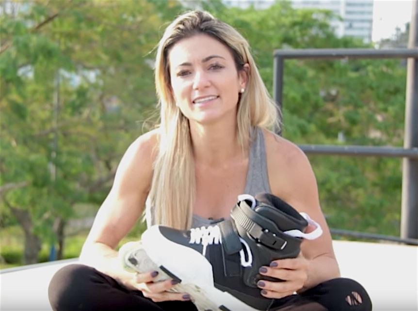 Fabiola da Silva – Rollerblade Flashback