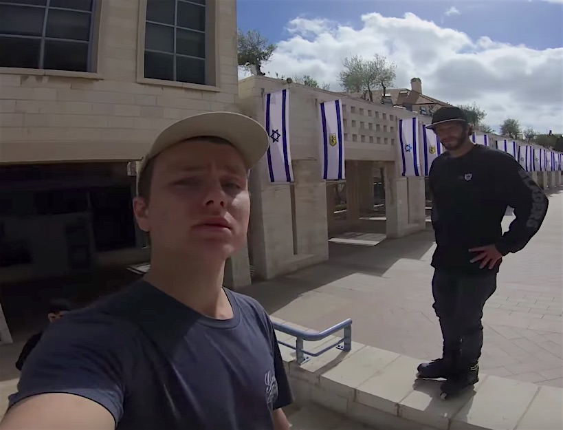 """What's up Tel Aviv?"" Nils Jansons in Israel"