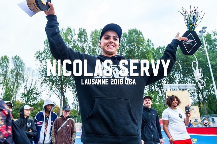 Nicolas Servy: Lausanne 2018