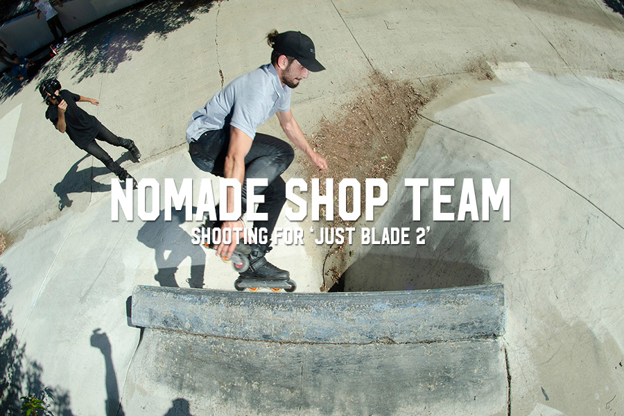 Nomade Shop Team: Shooting for 'Just Blade 2'