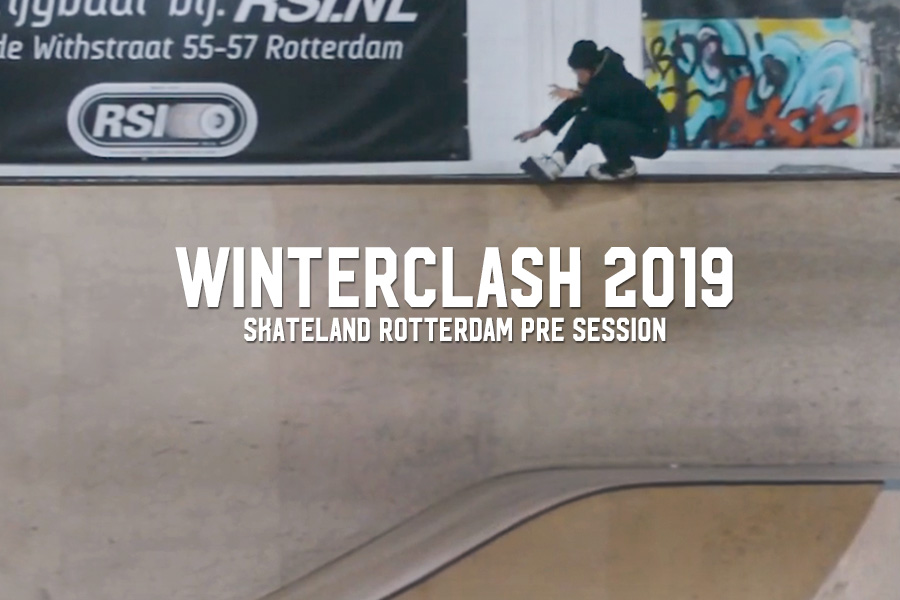Skateland Rotterdam Winterclash Pre Session