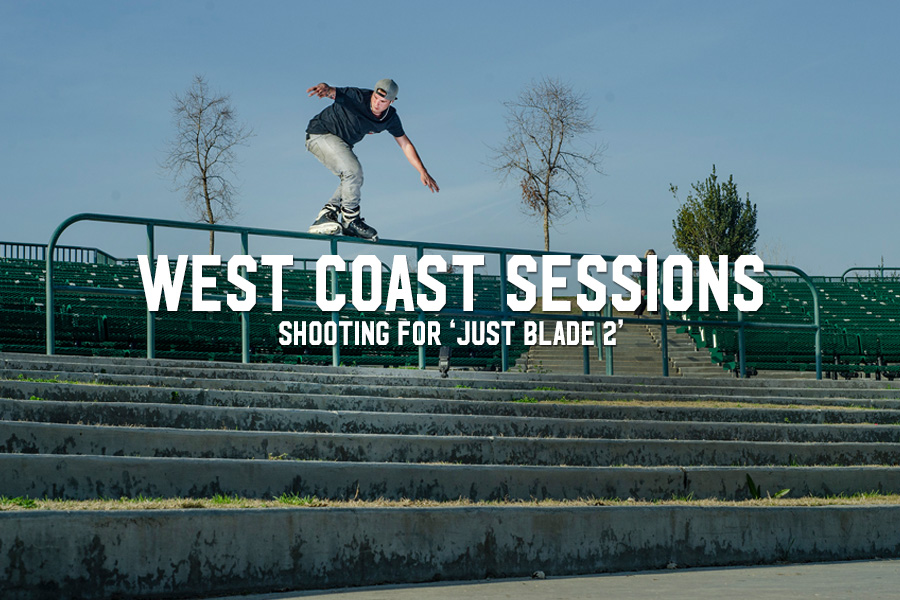 West Coast Sessions: Shooting for 'Just Blade 2'