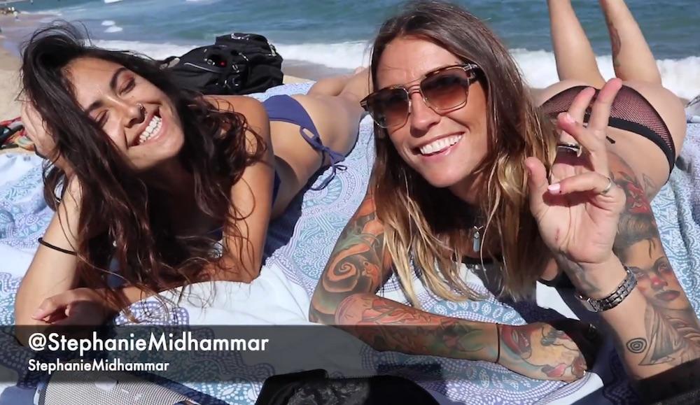 Big Wheelin' Barcelona with Coco Sanchez and Stephanie Midhammar