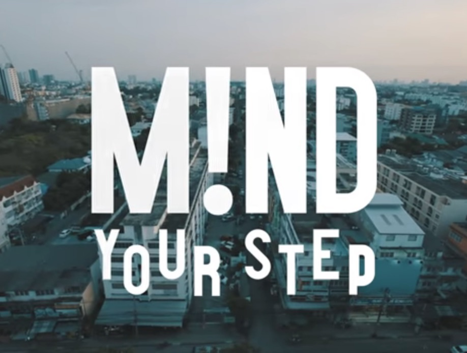 """MIND YOUR STEP"" by Kaspars Alksnis – Starring Nils Jansons"